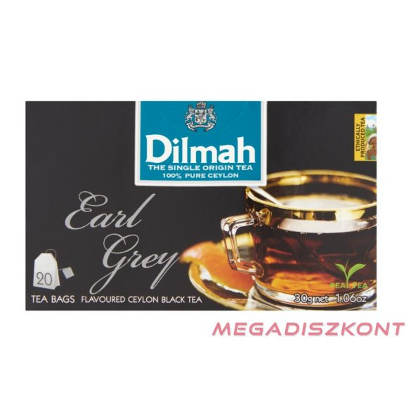 Dilmah Earl Grey tea 20*1,5g
