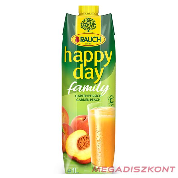 Rauch Happy Day Family Őszibarack 35% 1l