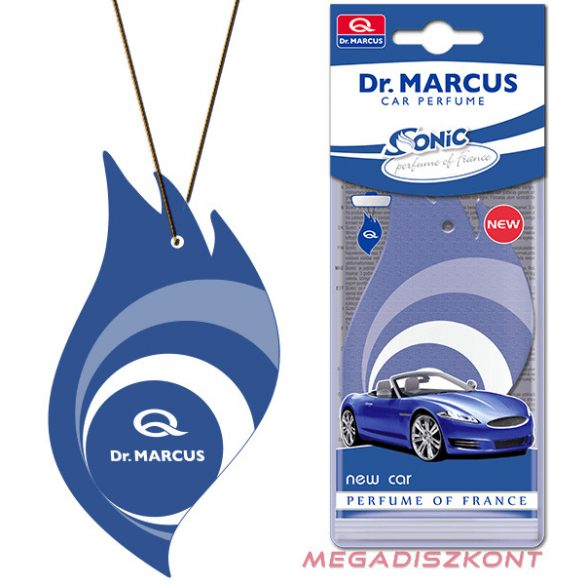 Dr. Marcus Sonic new car