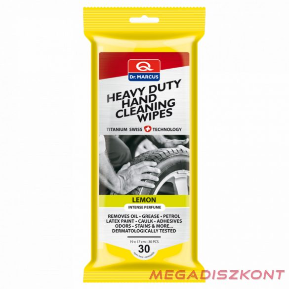 Dr. Marcus Heavy Duty Cleaning Wipes Lemon